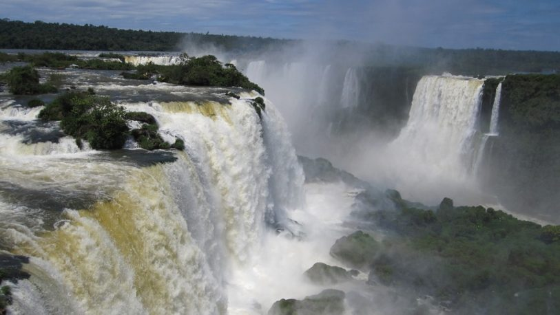 """Las Cataratas del Iguazú, elegidas como la tercera """"maravilla incuestionable"""" del mundo"""