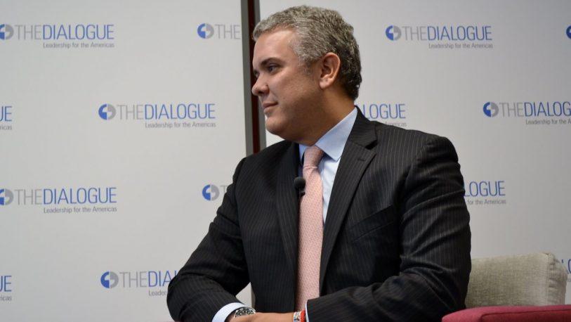 """Para Duque, Maduro convirtió a Venezuela en un """"santuario para terroristas"""""""