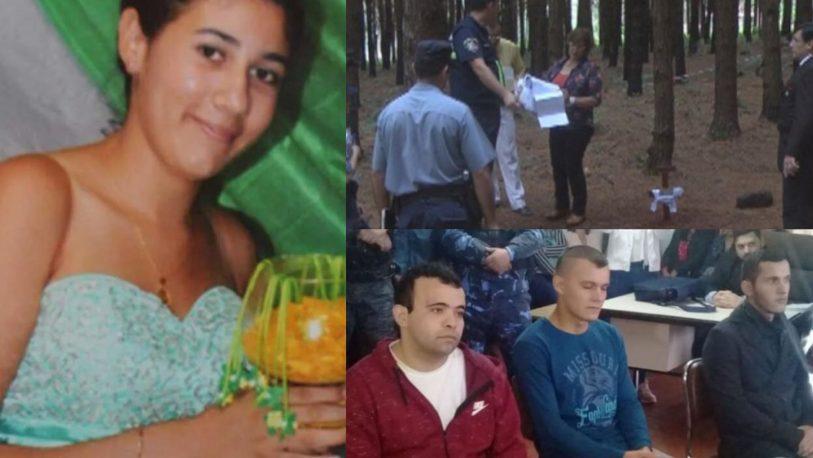 Crimen de Miriam Cubas: dos condenados y un absuelto
