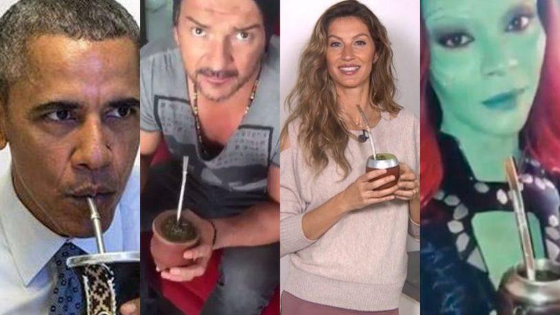 Conocé las celebridades internacionales fanáticas del mate