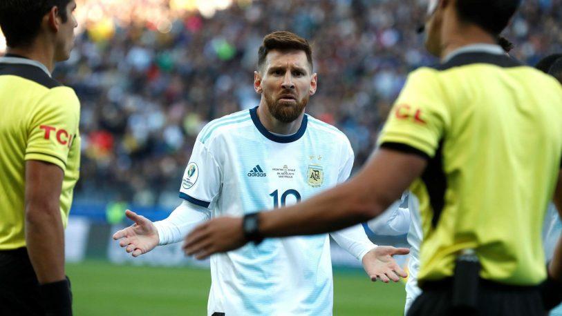 Messi se disculpa a la Conmebol para evitar una sanción
