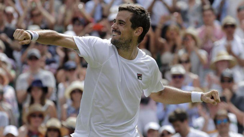 Pella le ganó Raonic y hace historia en Wimbledon