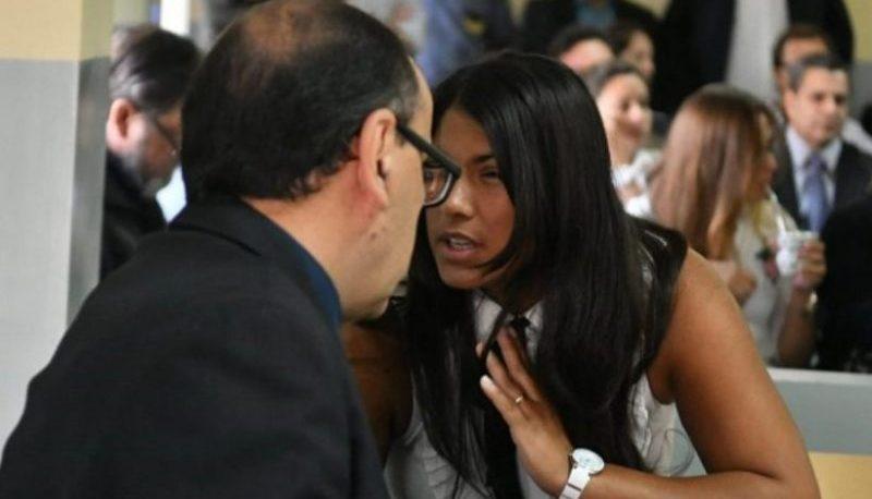 Rocío Santa Cruz recuperó la libertad