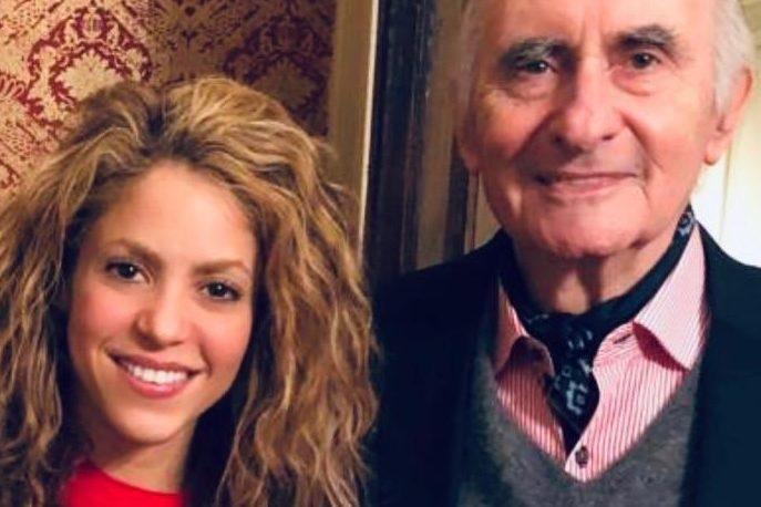 """Shakira, ex nuera de De la Rúa, dijo que recordará al ex presidente como """"un amigo"""""""