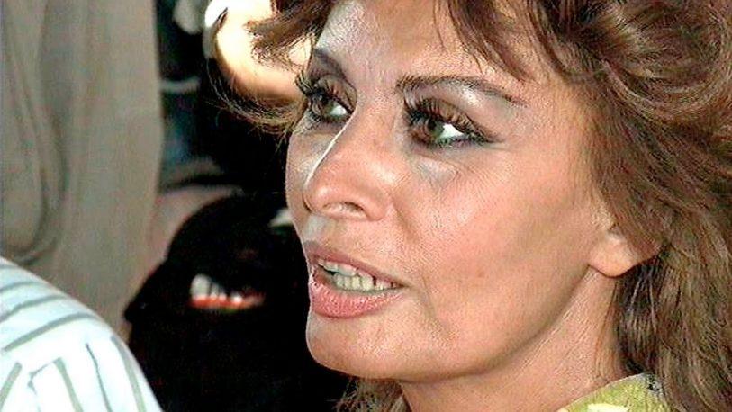 Sophia Loren regresa al cine tras una década de inactividad