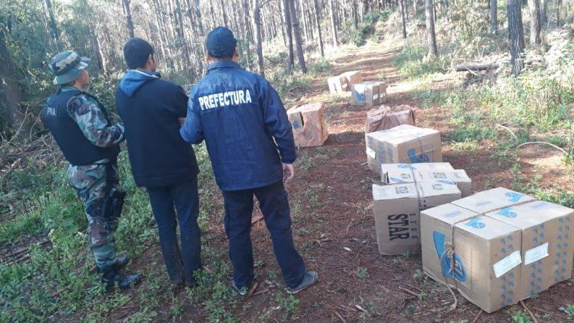 Prefectura secuestró millonario cargamento de cigarrillos