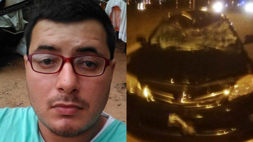 Detuvieron al chofer del Ministerio que atropelló y mató a Martín Abente