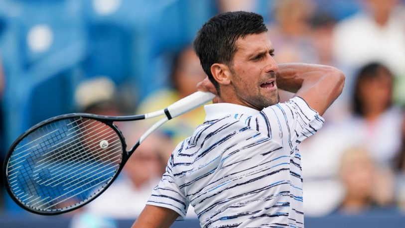 Djokovic sigue al frente del ranking de la ATP, tras el torneo de Cincinnati