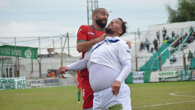 "Tremendo gol del ""Ogro"" Fabbiani"