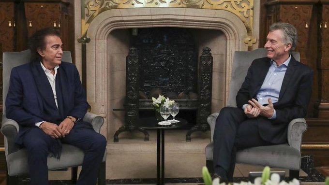 """Macri recibió al """"Puma"""" Rodríguez"""