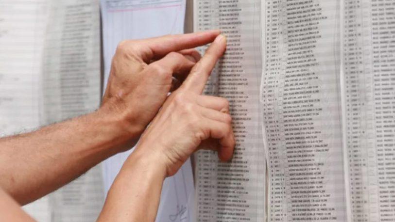 Menos electores en las elecciones generales