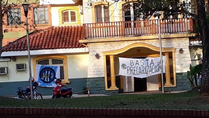 Jornada de paro en el Hospital Samic de Iguazú