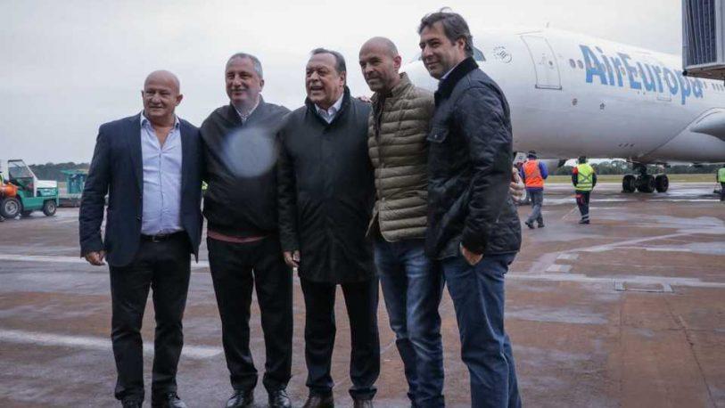 Arrúa admitió que habrá nuevos desafíos, con los vuelos Iguazú-Madrid