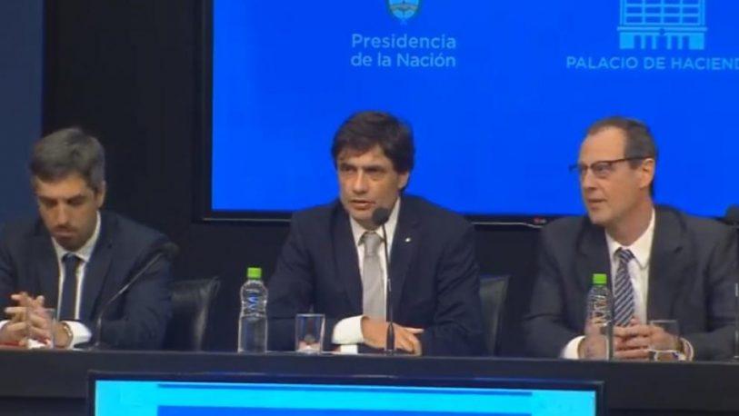 """Lacunza llamó a """"construir consensos"""" en política económica"""