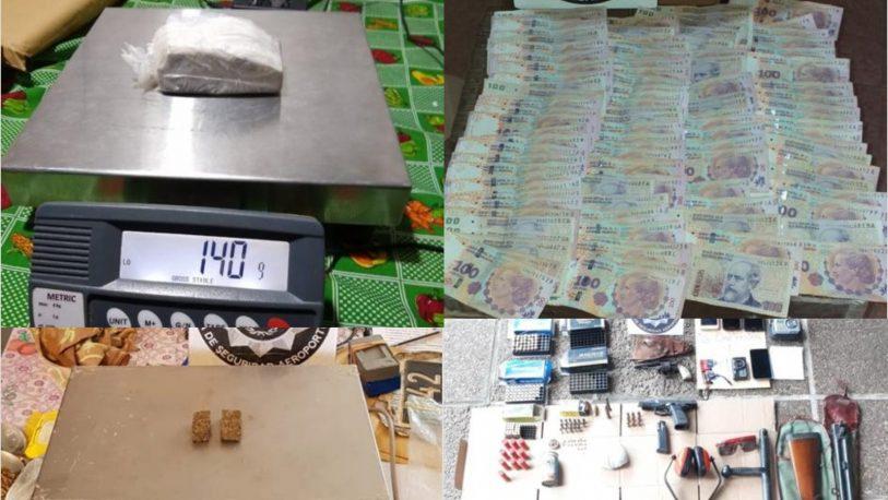 Corrientes: desarticulan dos organizaciones que vendían droga al menudeo