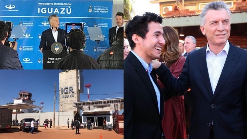 La Renovación sin sombrero ajeno: Macri y Puerta inauguraron el vuelo Madrid – Iguazú