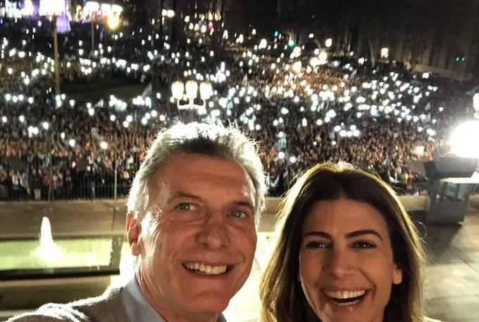 """Macri, ante la multitud: """"Tenemos que seguir más que nunca"""""""