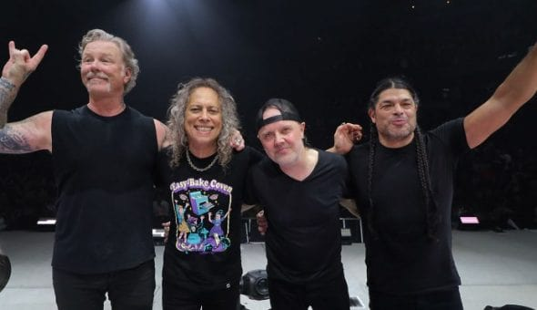 Metallica regresa en abril del año próximo a la Argentina