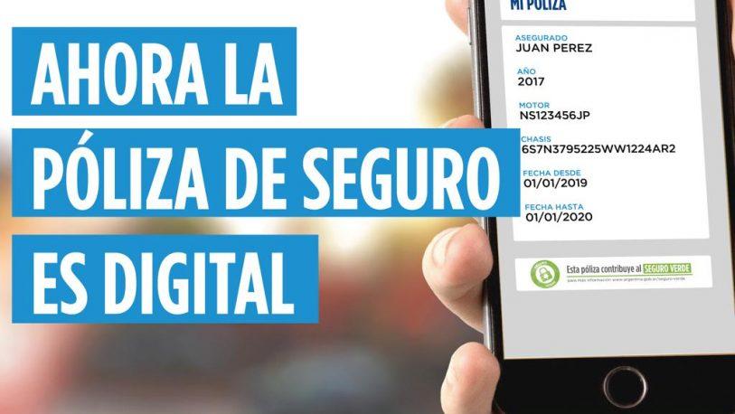 Posadas adhirió a la póliza de seguro digital