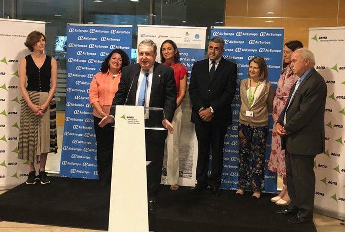 """Puerta sobre los vuelos Madrid-Iguazú: """"Fue una tarea personal mía"""""""