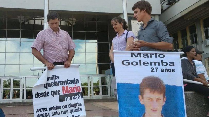 Jueza se negó a mostrar el expediente de la desaparición de Mario Golemba