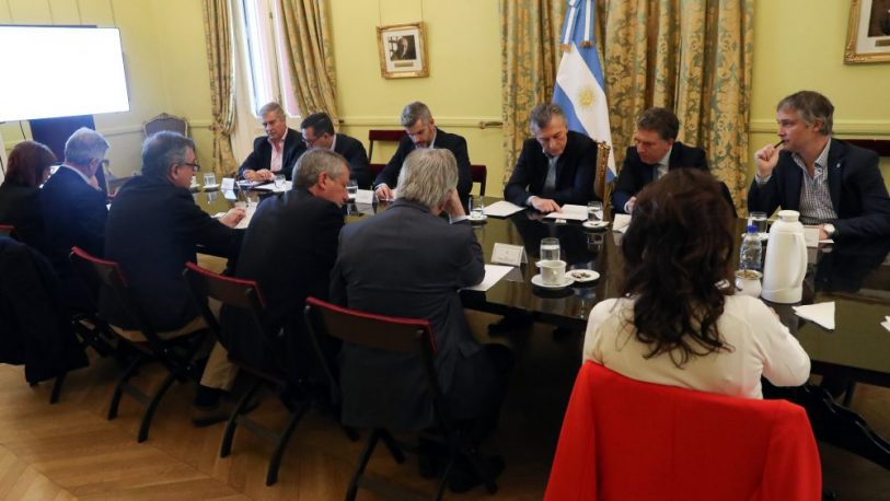 Macri mantuvo múltiples reuniones para avanzar en un paquete de medidas
