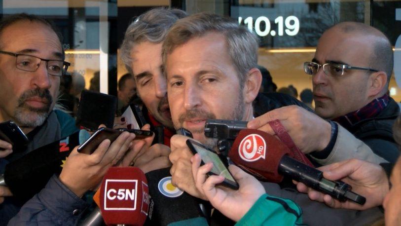 """Frigerio dijo que le facilitarán """"todo al próximo gobierno"""""""