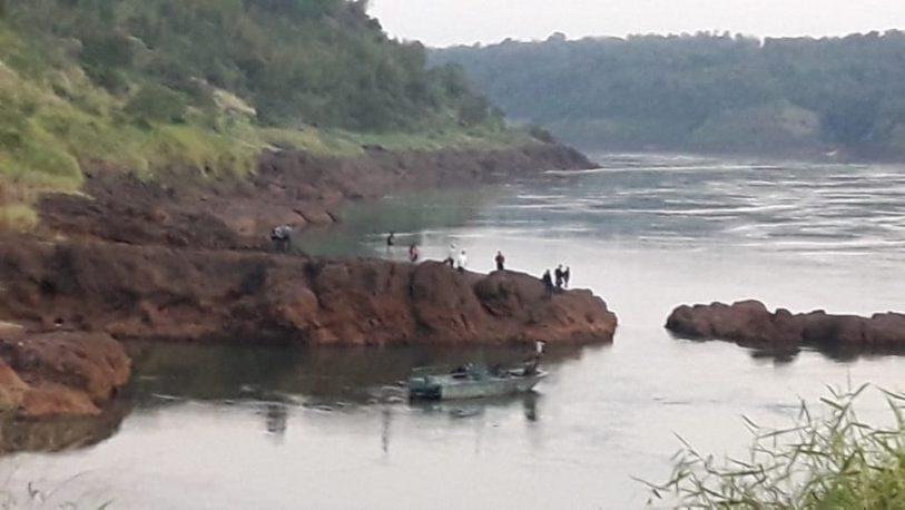 Iguazú: hallaron el cuerpo del niño que se arrojó al Paraná
