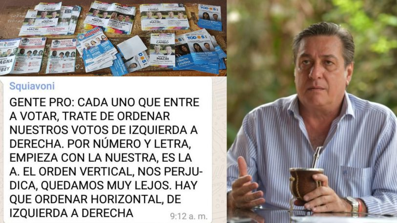 """""""Juntos"""" impugnaría la candidatura de Alfredo Schiavoni"""