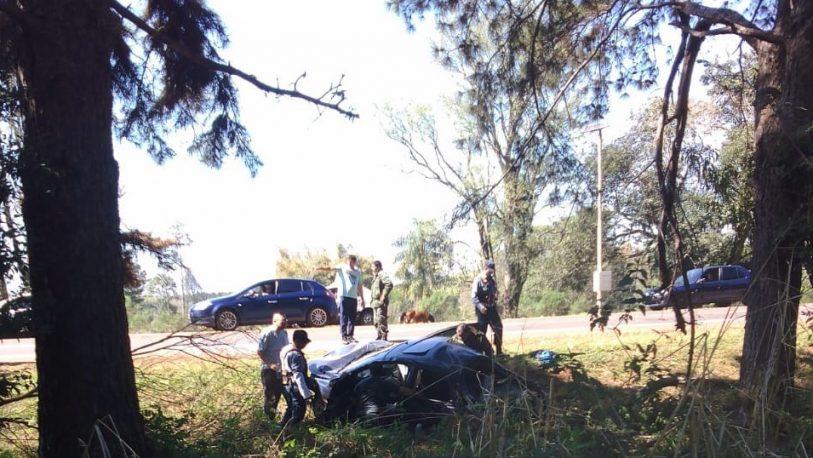 Un conductor fue internado tras despiste en Eldorado