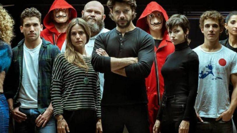 "Confirman una quinta temporada de ""La Casa de Papel"""