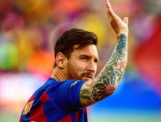 Messi volvió a entrenarse con el plantel de Barcelona