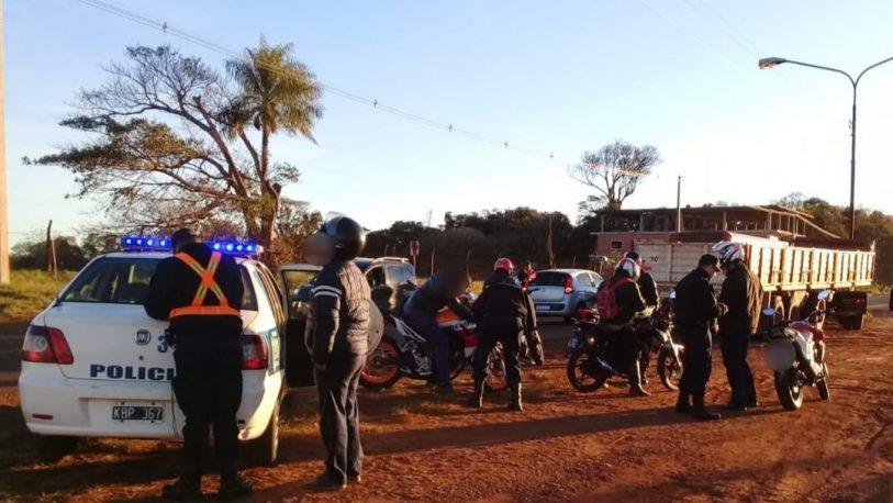 Operativo dejó 22 detenidos y secuestro de 45 vehículos