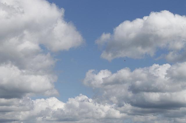 1 de enero nublado y caluroso