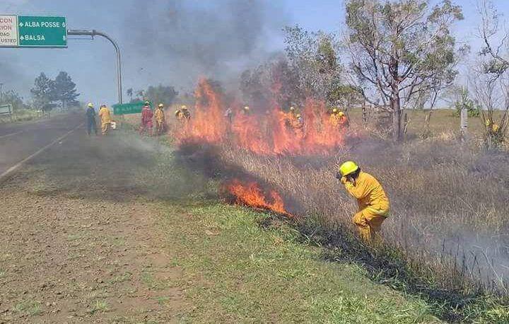 Alerta máxima en Misiones por quemas en el ámbito rural