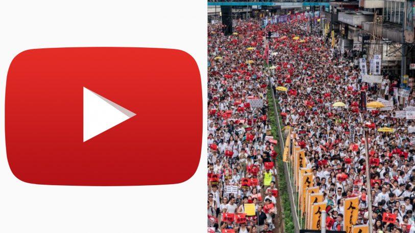 Google deshabilita 210 canales de YouTube por las protestas de Hong Kong