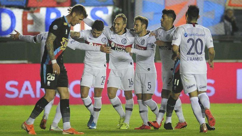 San Lorenzo venció a Arsenal en Sarandí y es puntero de la Superliga