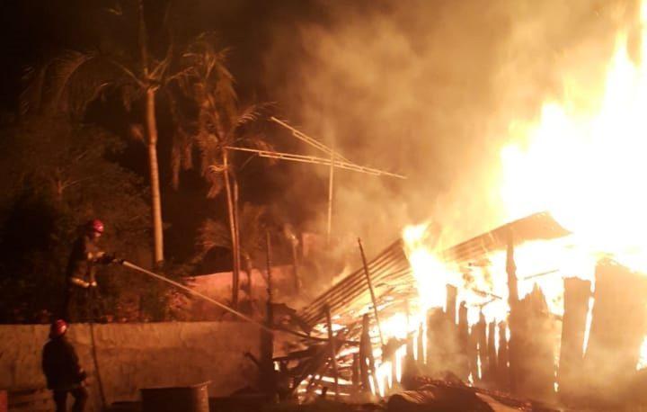 Se incendió un obrador en Posadas