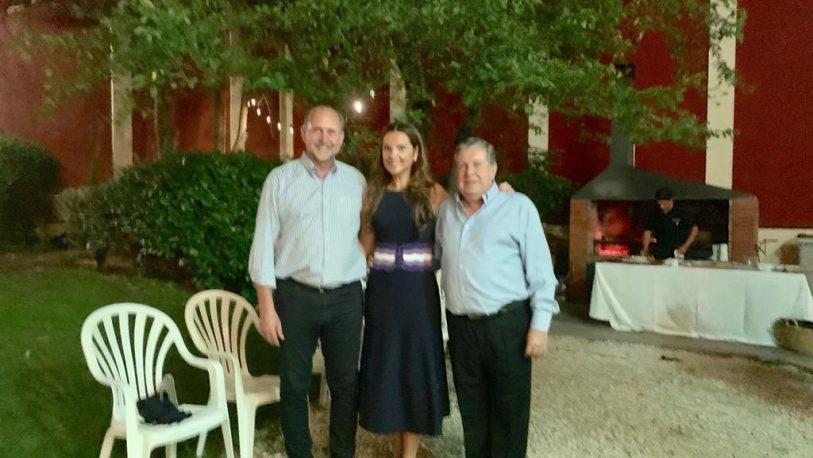 El Embajador Puerta recibió al Gobernador de Santa Fe, Omar Perotti