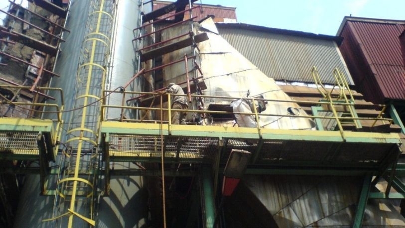 Alto Paraná: uno de los operarios tiene 44% del cuerpo quemado