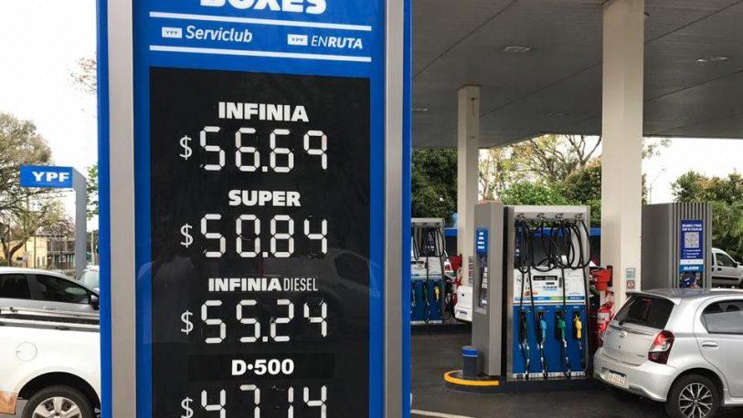 Combustibles: se oficializó el aumento