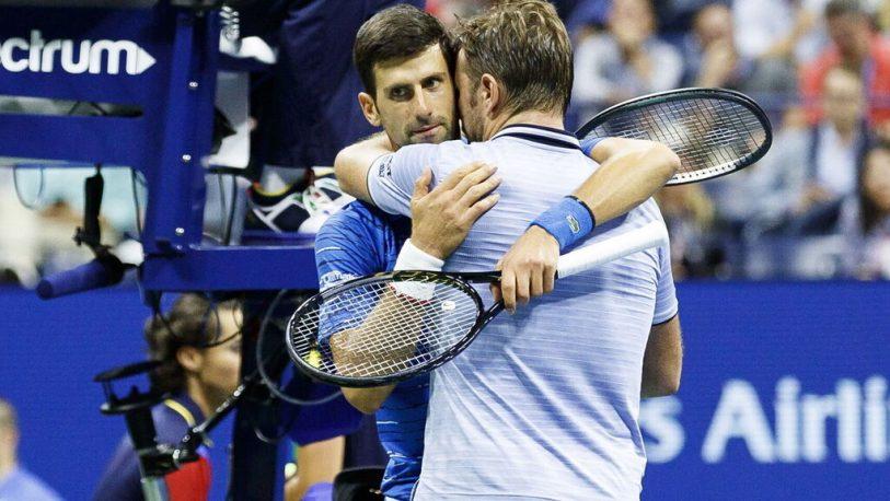 US Open: Djokovic se retiró tras ser superado por Wawrinka
