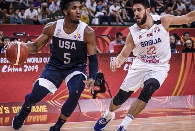 Serbia superó a Estados Unidos y jugará por el quinto puesto
