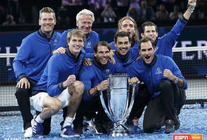 Europa ganó la tercera edición de la Copa Laver de tenis