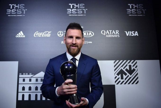 Messi recibió el premio The Best al mejor jugador del año