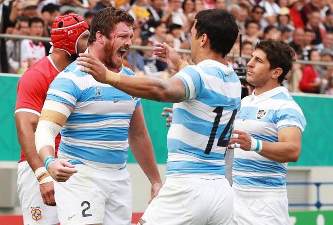 Rugby: Argentina cumplió y superó a Tonga por 28 a 12