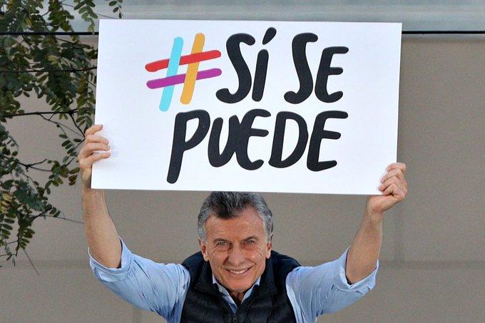 """Macri aseguró que """"se puede dar vuelta esta elección"""" ante una multitud en la marcha Si se Puede"""