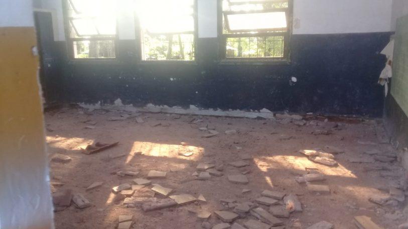 Escuela 238: reclaman por la falta de avance en las obras