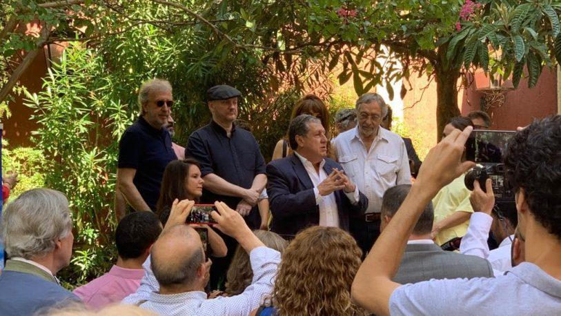 España: el Grupo SMEDIA presentó una obra en la Embajada Argentina