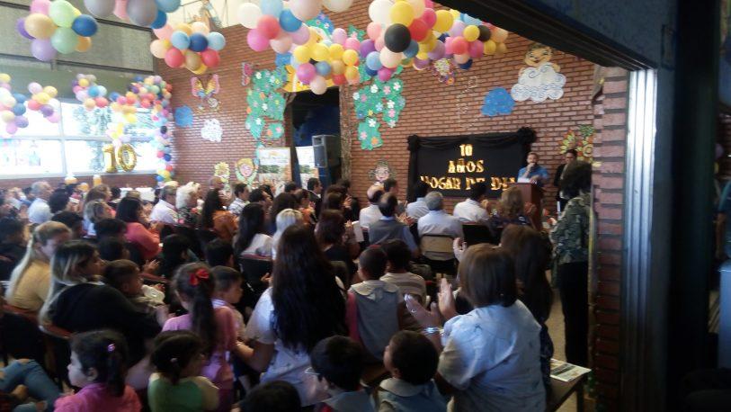 Festejaron el 10º Aniversario del Hogar de Día de Posadas